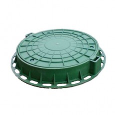 Люк полимерный малый, 70кН (зеленый)
