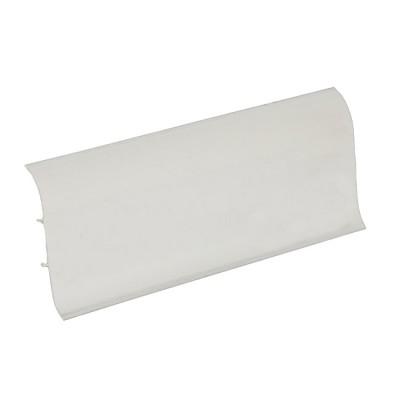Плинтус Ideal Деконика 70 мм Белый 001