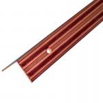 Порог АЛ-169 угол/упак/красное дерево 1,0 м