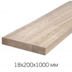 Щит мебельный 18х200х1000 АВ Хвоя (Ступень к лестнице)