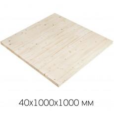 Поворотная площадка 40х1000х1000 (АВ Хвоя)