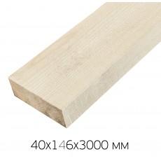 Доска сухая строганая 40х146х3000 мм, профилированная, 1 сорт хвоя